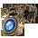 прозрачное сапфировое ожерелье