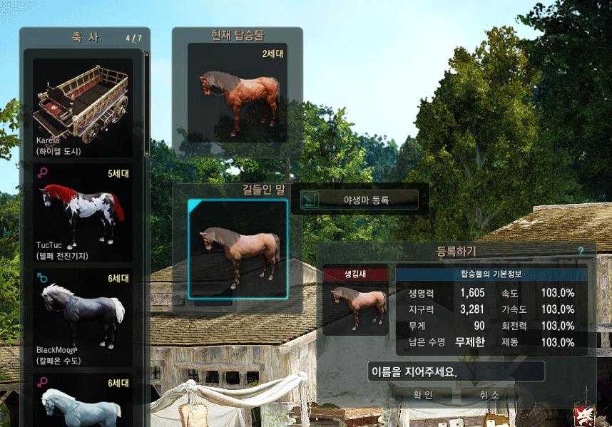 Приручение лошадей в Black Desert