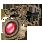 яркое рубиновое ожерелье